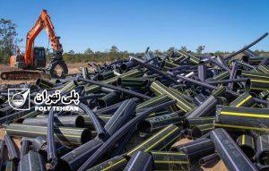 بازیافت لولههای پلیاتیلن