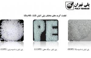 تفاوت کاربرد و انواع پلی اتیلن سبک و سنگین
