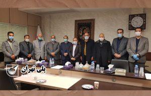 نشست هیئت مدیره اتحادیه لوازم بهداشتی ساختمانی با هیئت مدیره اتاق اصناف